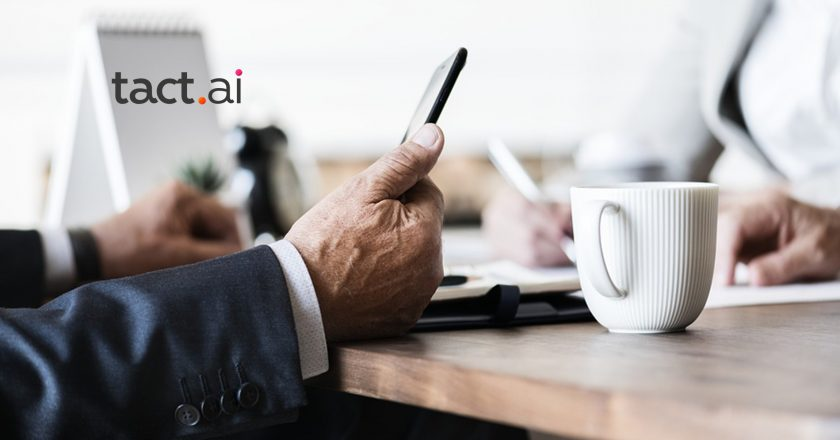 Tact.ai Named to Fourth Consecutive Constellation ShortList for Sales Productivity
