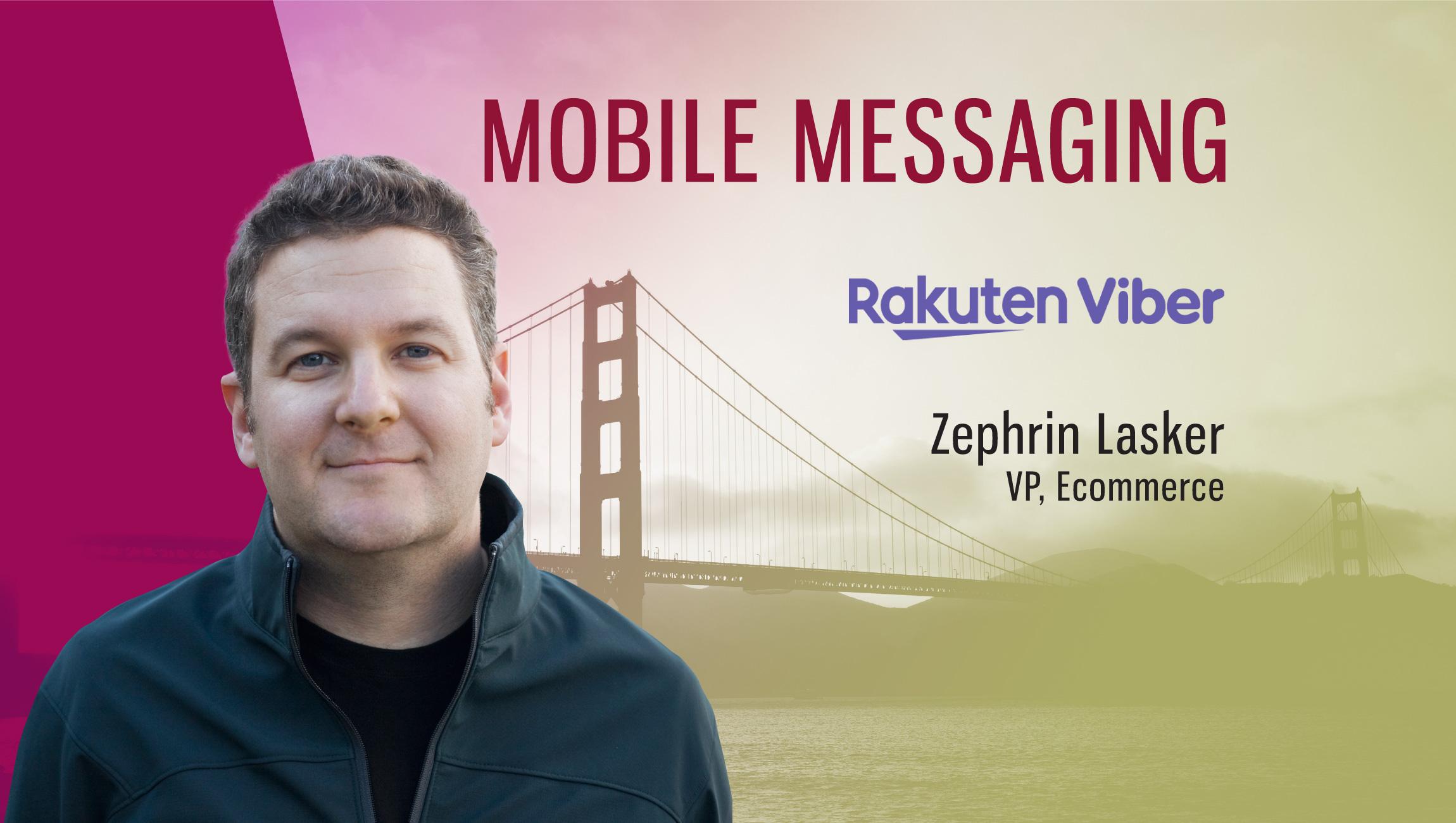 TechBytes with Zephrin Lasker, VP E-Commerce at Rakuten Viber