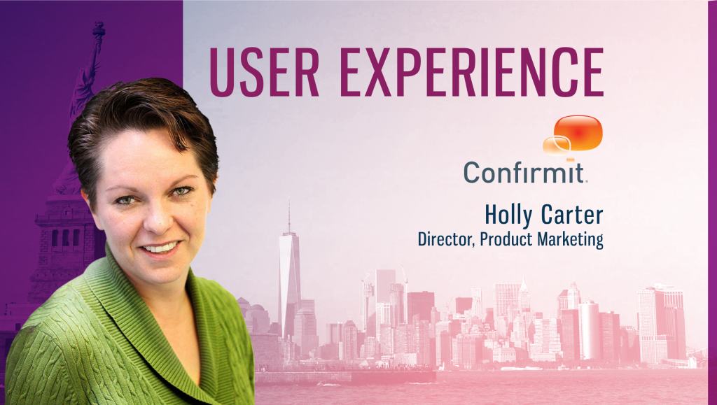 Holly Carter, Confirmit