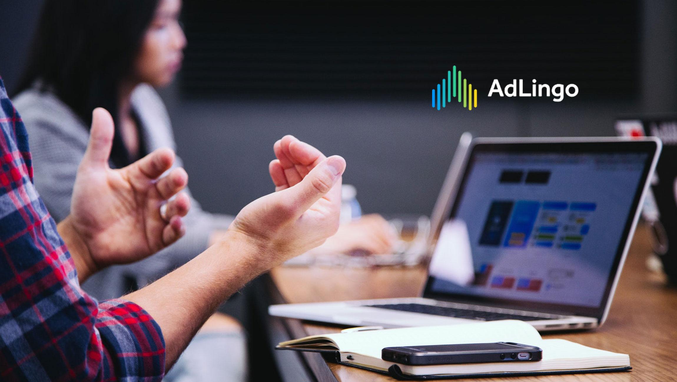 Adlingo meet adlingo, a new marketing platform that connects consumers