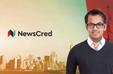 Interview with Shafqat Islam, Co-founder & CEO at NewsCred