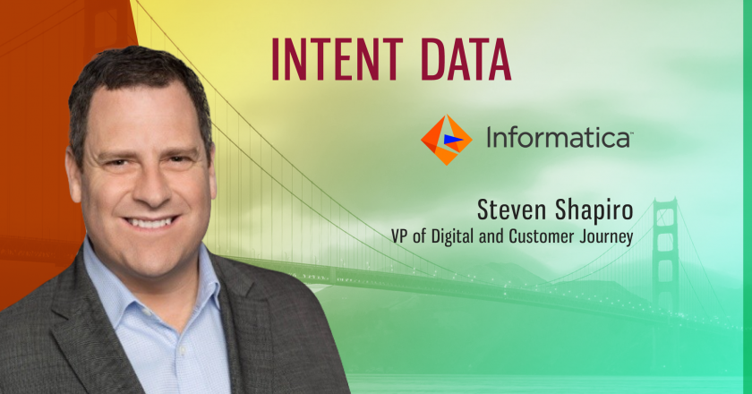 TechBytes with Steven Shapiro, VP of Digital and Customer Journey at Informatica