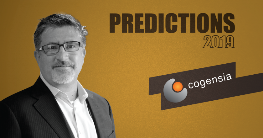 Prediction Series 2019: Interview with Brad Rukstales, CEO and President, Cogensia