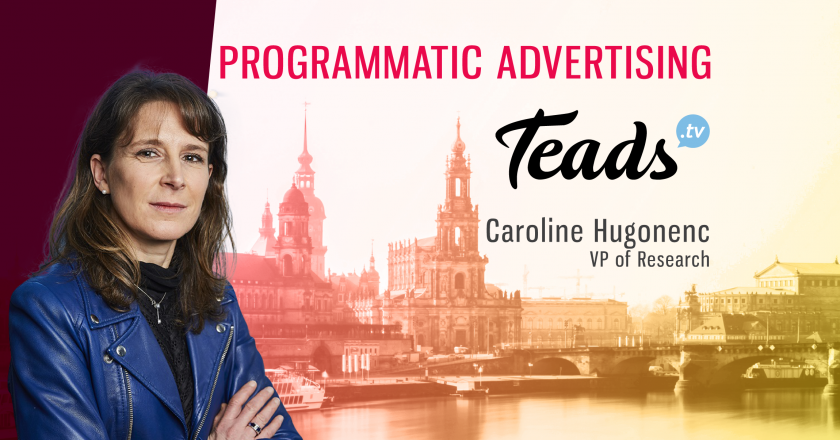 TechBytes with Caroline Hugonenc, Global VP Research & Insights at Teads.tv