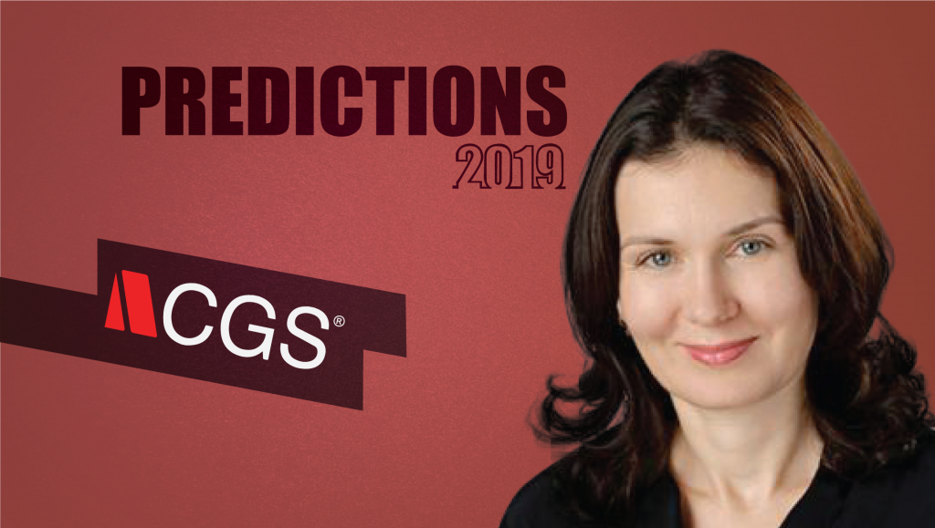 Elena Filimonova, SVP- Global Marketing at CGS