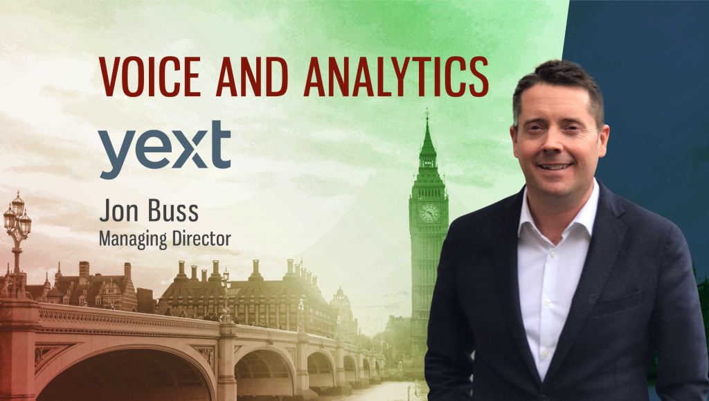 TechBytes with Jon Buss, Managing Director at Yext