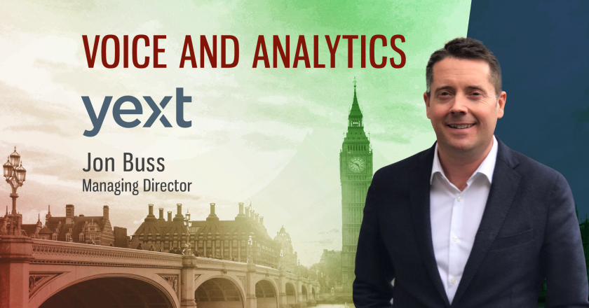 TechBytes with Jon Buss, Managing Director at Yext