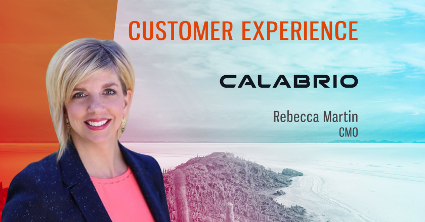 TechBytes with Rebecca Martin, CMO at Calabrio