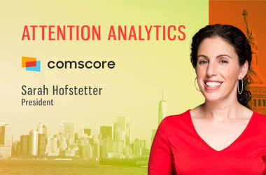 TechBytes with Sarah Hofstetter, President, Comscore