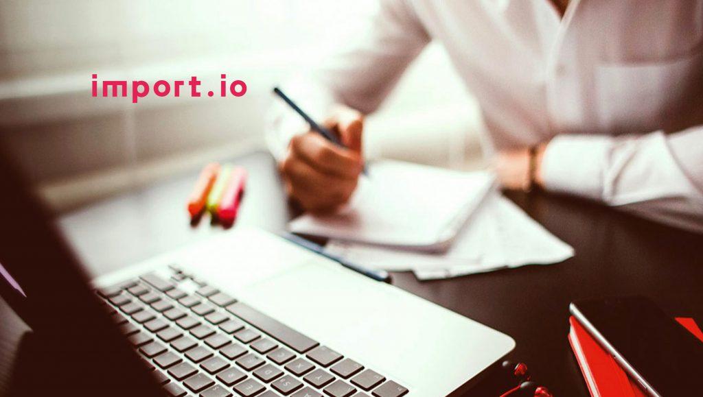 Import.io Raises Series B Funding to Expand Industry-Leading Web Data Integration Platform