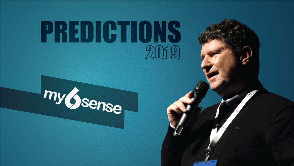 Prediction Series 2019: Interview with Avinoam Rubinstain, CEO, my6sense