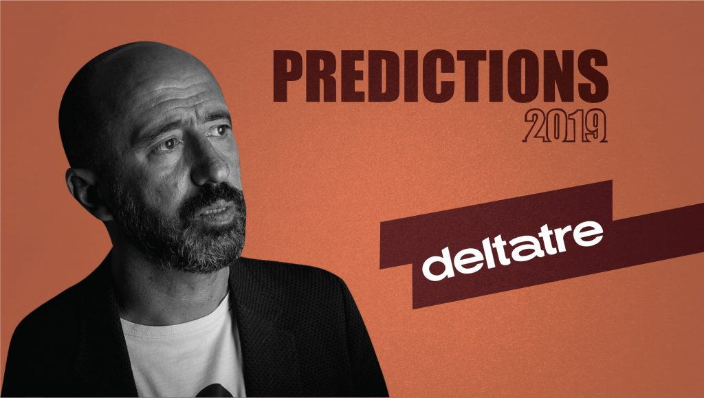 Prediction Series 2019: Interview with Carlo De Marchis, Chief Product and Marketing Officer, Deltatre