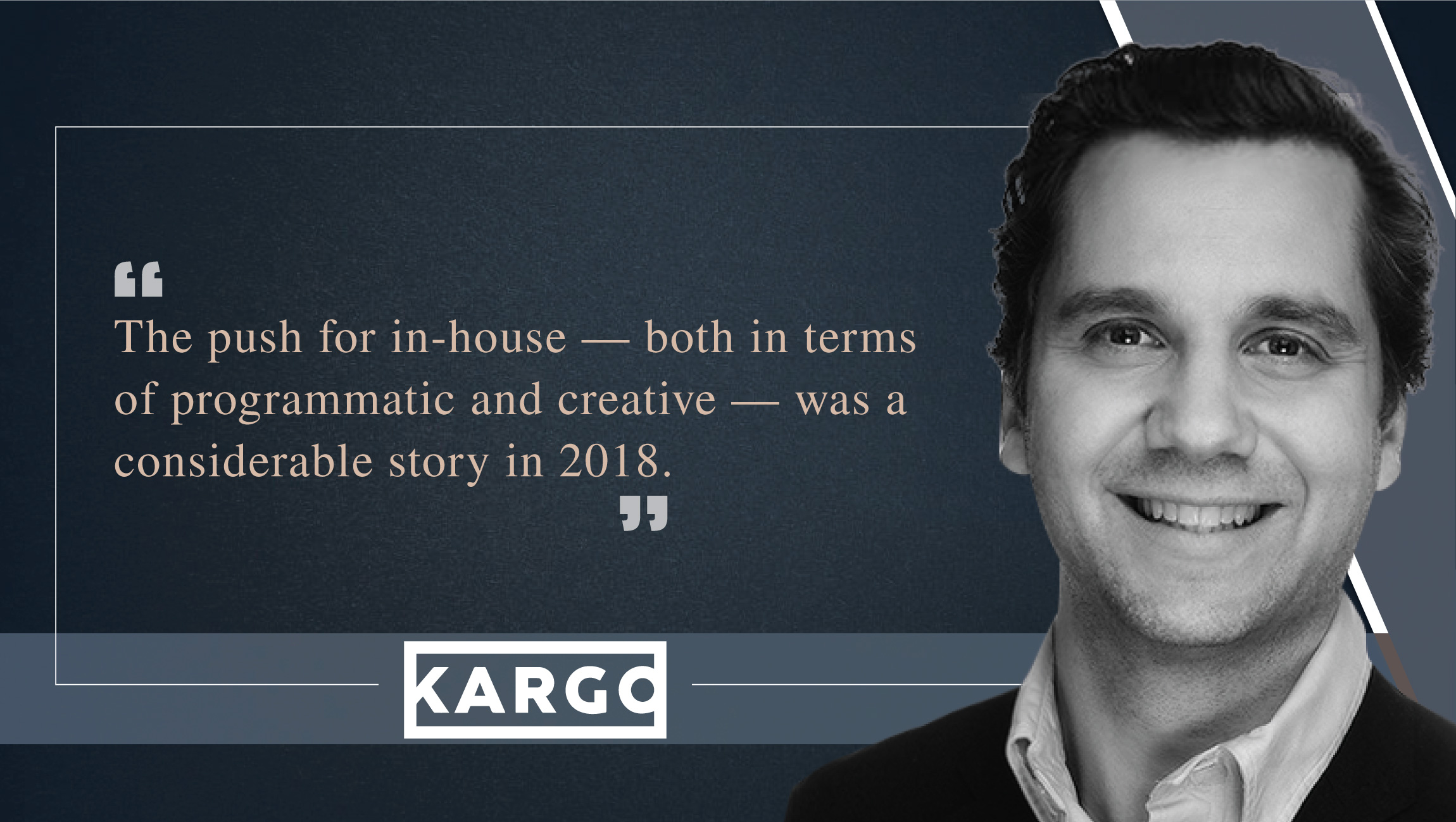 Harry Kargman, Founder and CEO, Kargo