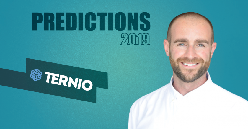 Prediction Series 2019: Interview with Ian Kane, Founder / COO, Ternio