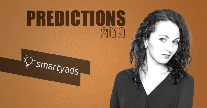 Prediction Series 2019: Interview with Irina Kovalenko, CMO, SmartyAds
