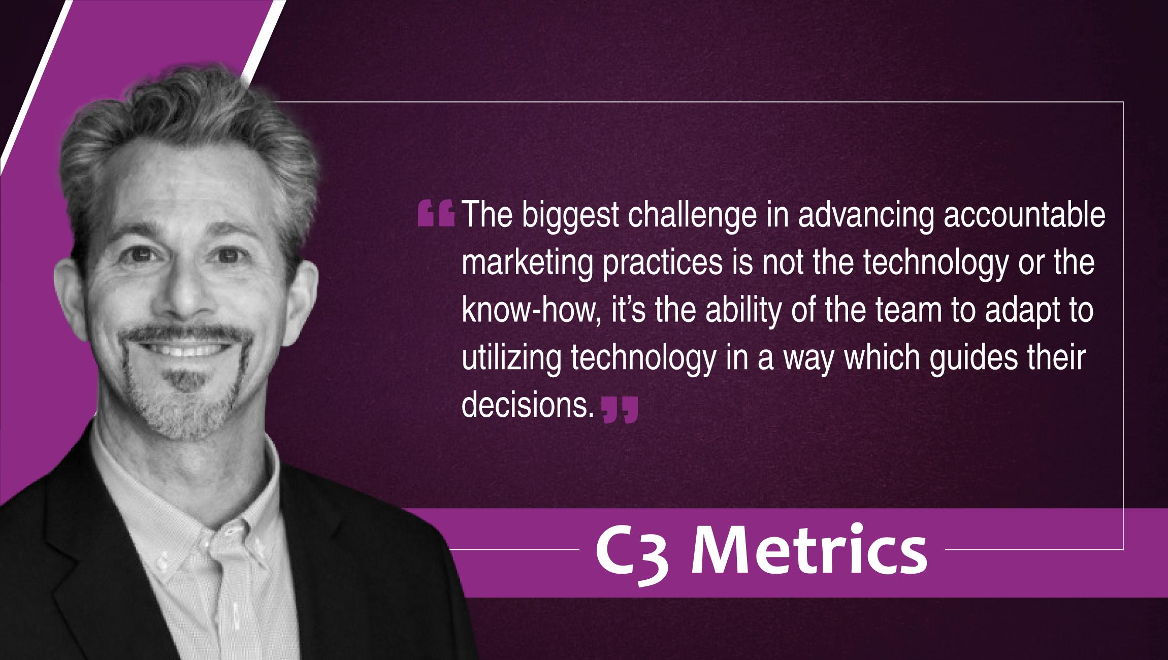 Jeff Greenfield, COO, C3 Metrics