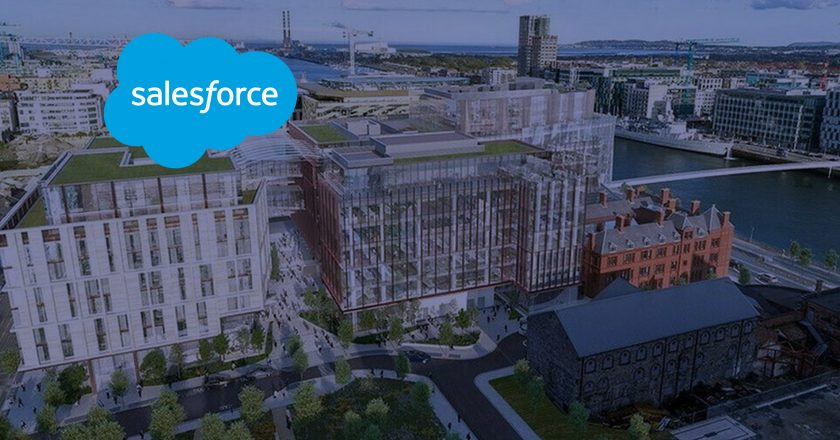 Salesforce Announces Salesforce Tower Dublin, Commits to Adding 1,500 New Jobs in Ireland