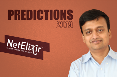 Prediction Series 2019: Interview with Udayan Bose, Founder & CEO, NetElixir