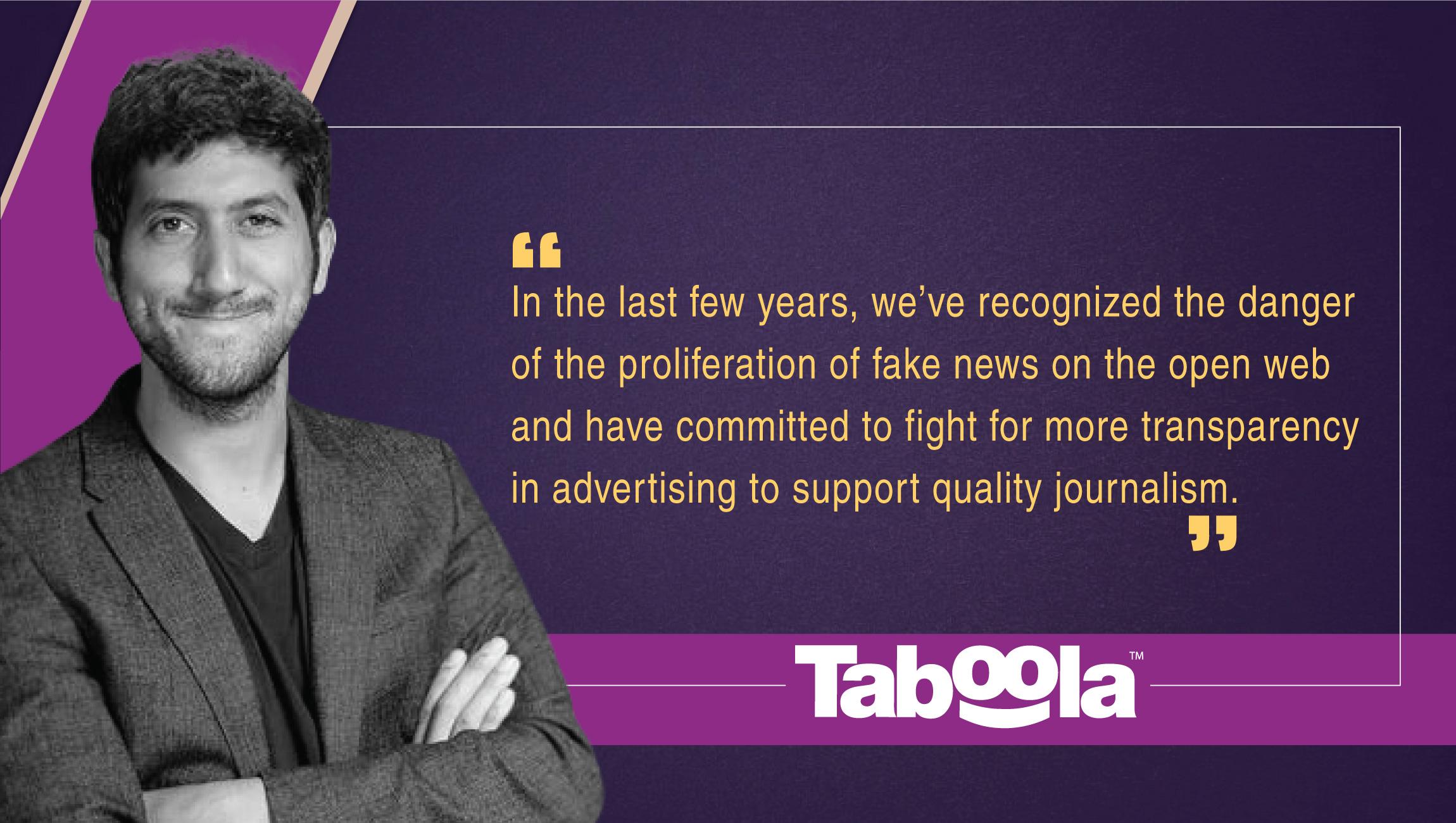 Adam Singolda, Founder & CEO, Taboola