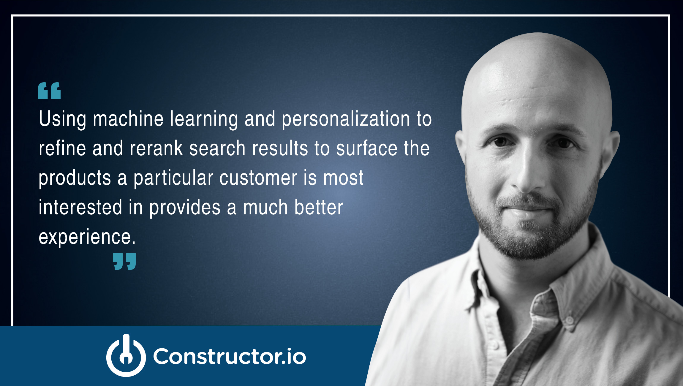 Eli Finkelshteyn, CEO and Co-Founder, Constructor