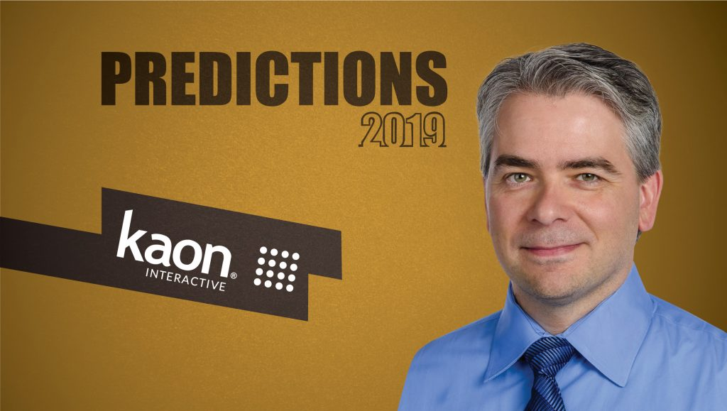 Prediction Series 2019: Interview with Joshua Smith, CTO & Founder, Kaon Interactive