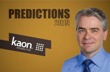 Prediction Series 2019: Interview with Joshua Smith, CTO & Founder, Kaon Interactive