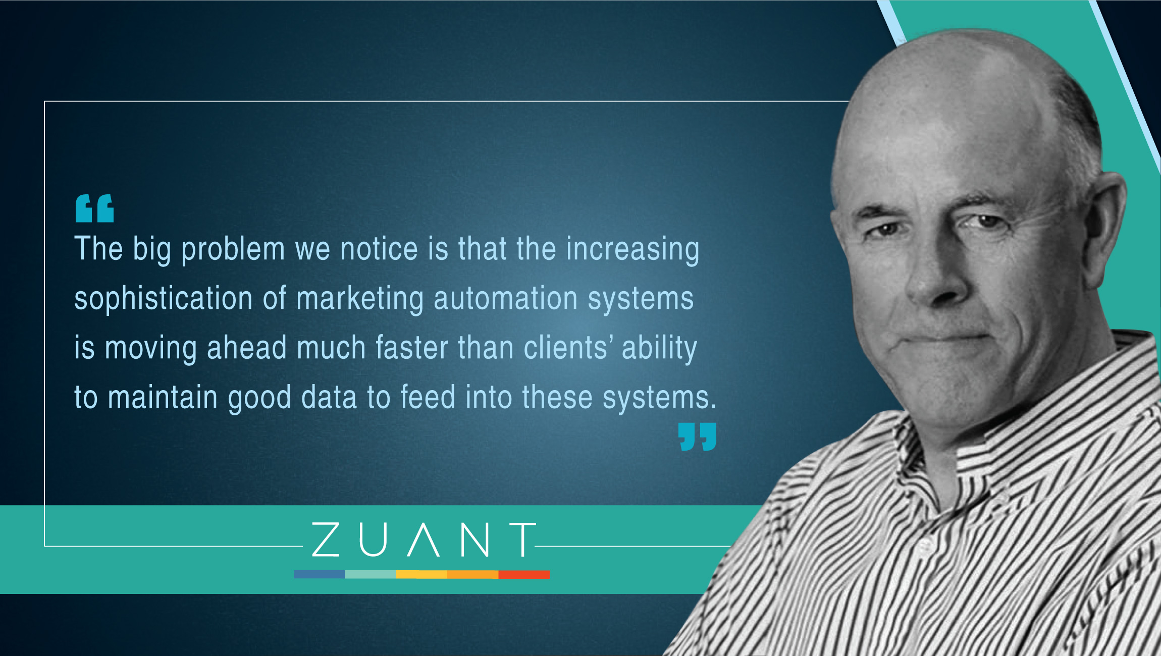 Peter Gillett, CEO, Zuant