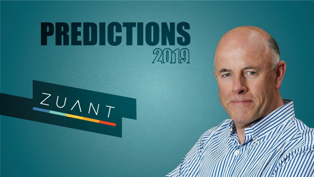Prediction Series 2019: Interview with Peter Gillett, CEO, Zuant