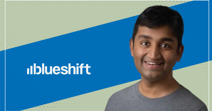 Interview with Vijay Chittoor, Co-Founder & CEO, Blueshift