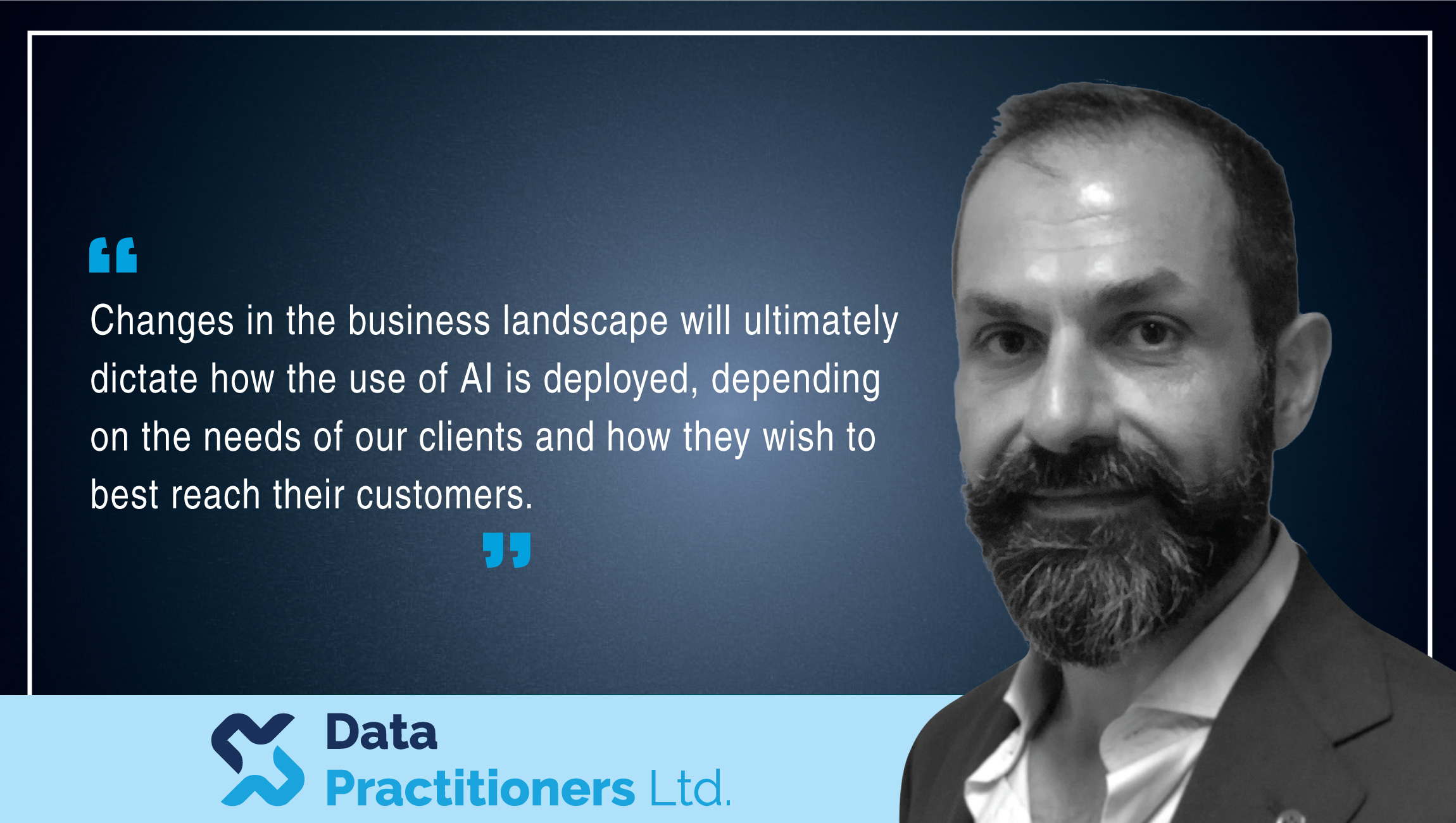 Dimitris Vlitas, Senior AI Advisor, Data Practitioners