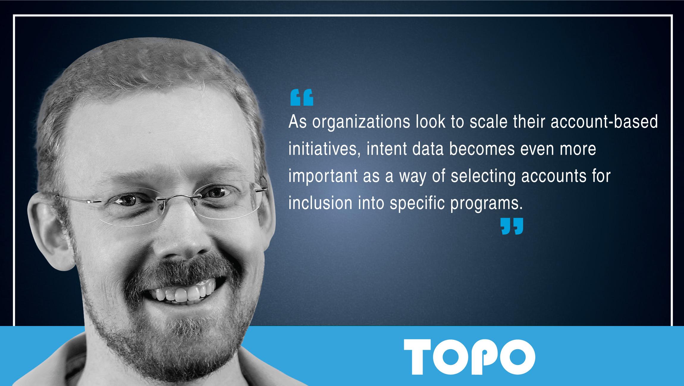 Eric Wittlake, Sr. Marketing Analyst, TOPO