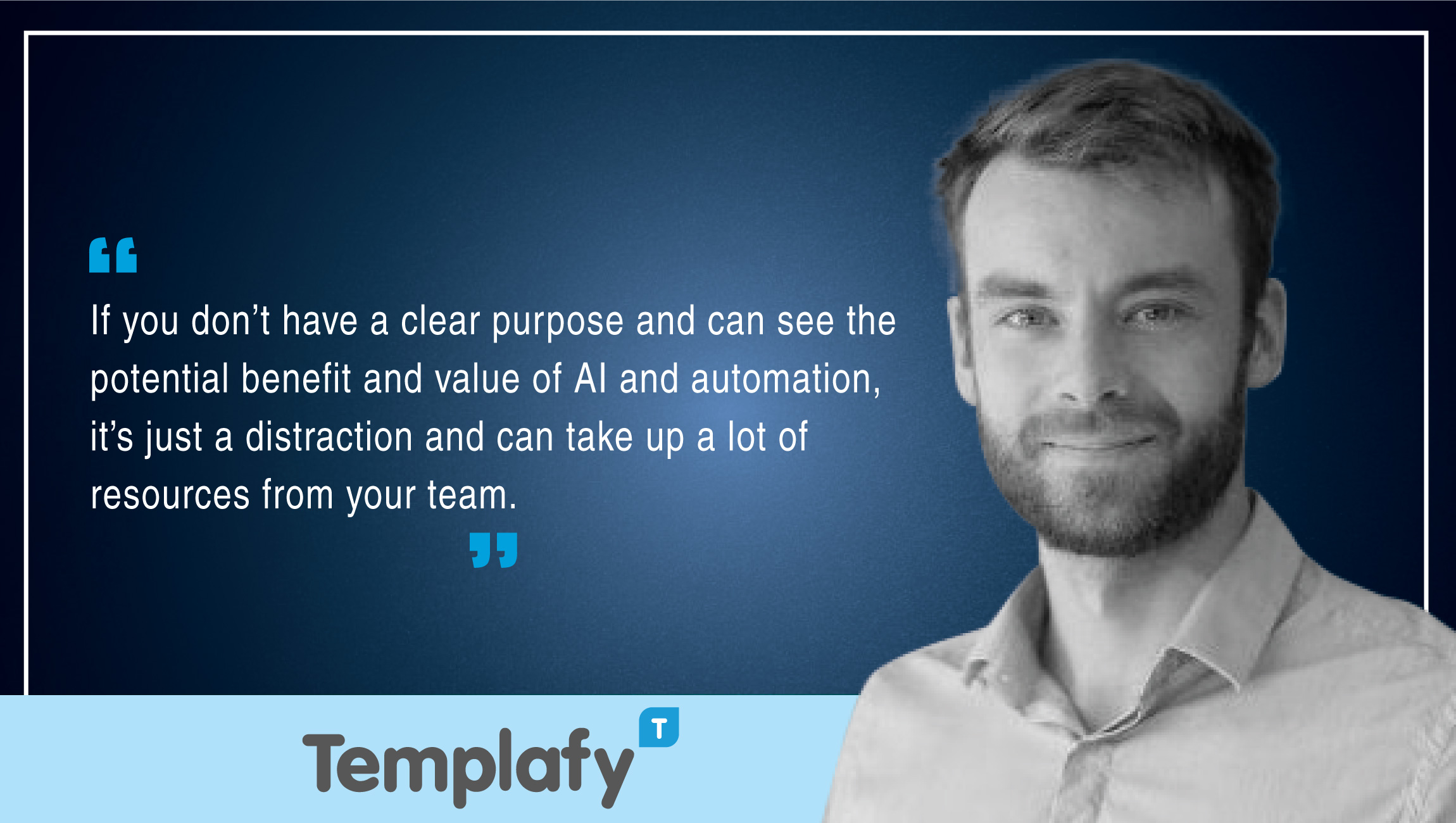 Glen Hagensen, Head of Marketing, Templafy