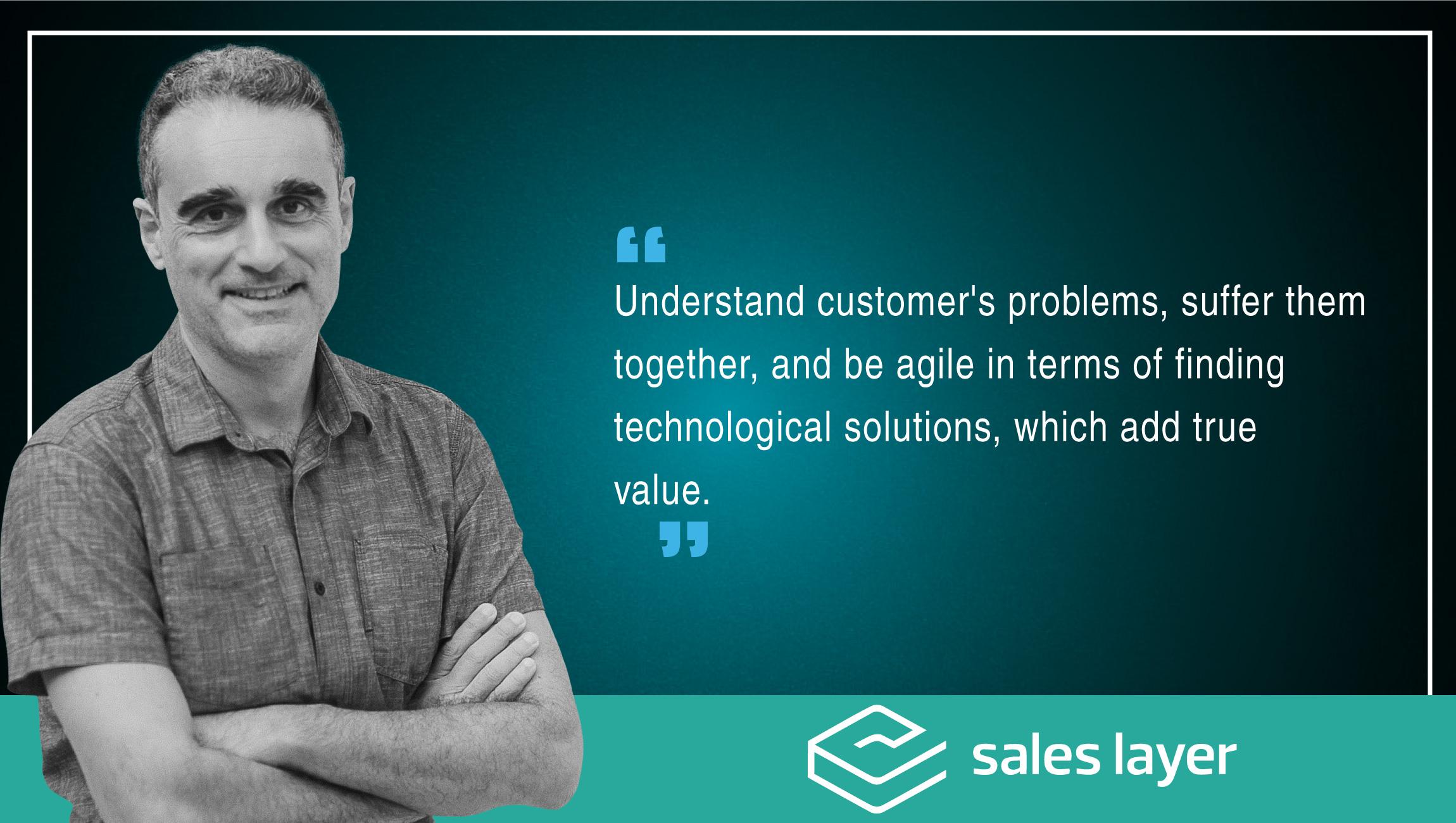 Iban Borras Serret, CTO, Sales Layer