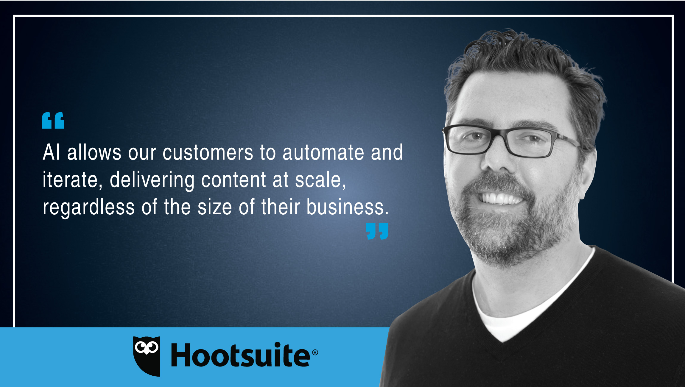 Jeremy Wood, VP of Product Marketing, Hootsuite