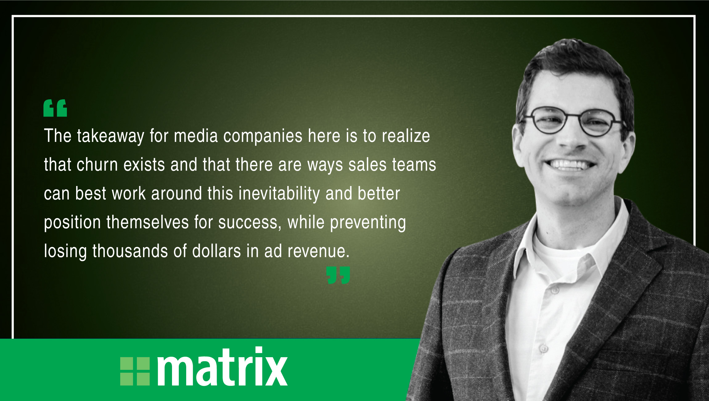 Mark Gorman, CEO, Matrix Solutions