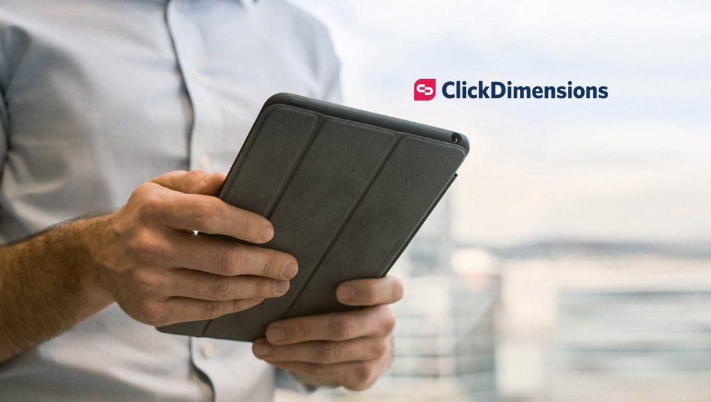 ClickDimensions Acquires Marketing Dashboard Provider Sweetspot
