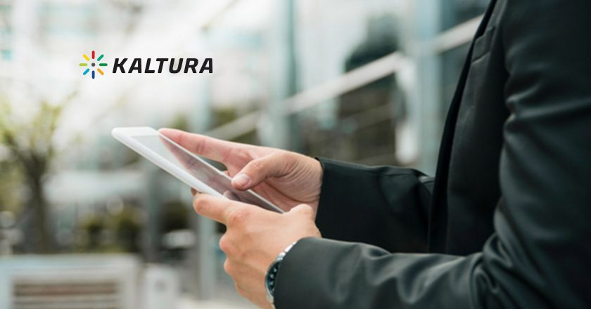 Kaltura Launches New Edition of Video Messaging Tool to Help Organizations Improve Overall Communication and Engagement