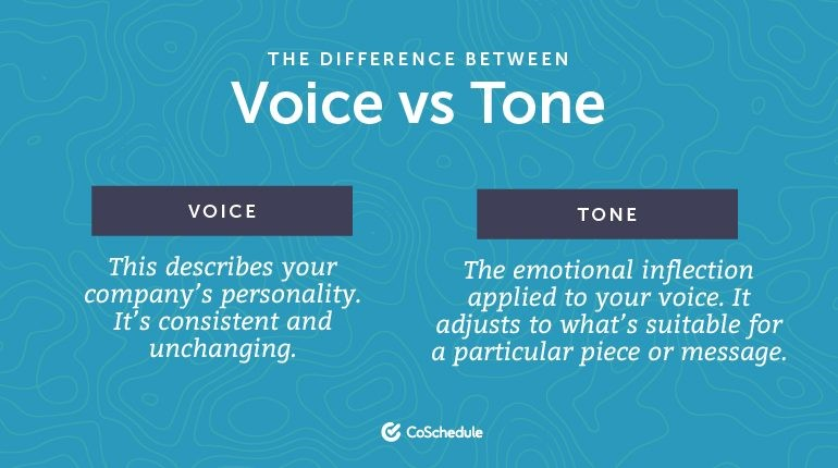 What is voice
