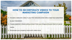 HOW TO INCORPORATE VIDEOS TO YOUR MARKETING CAMPAIGN