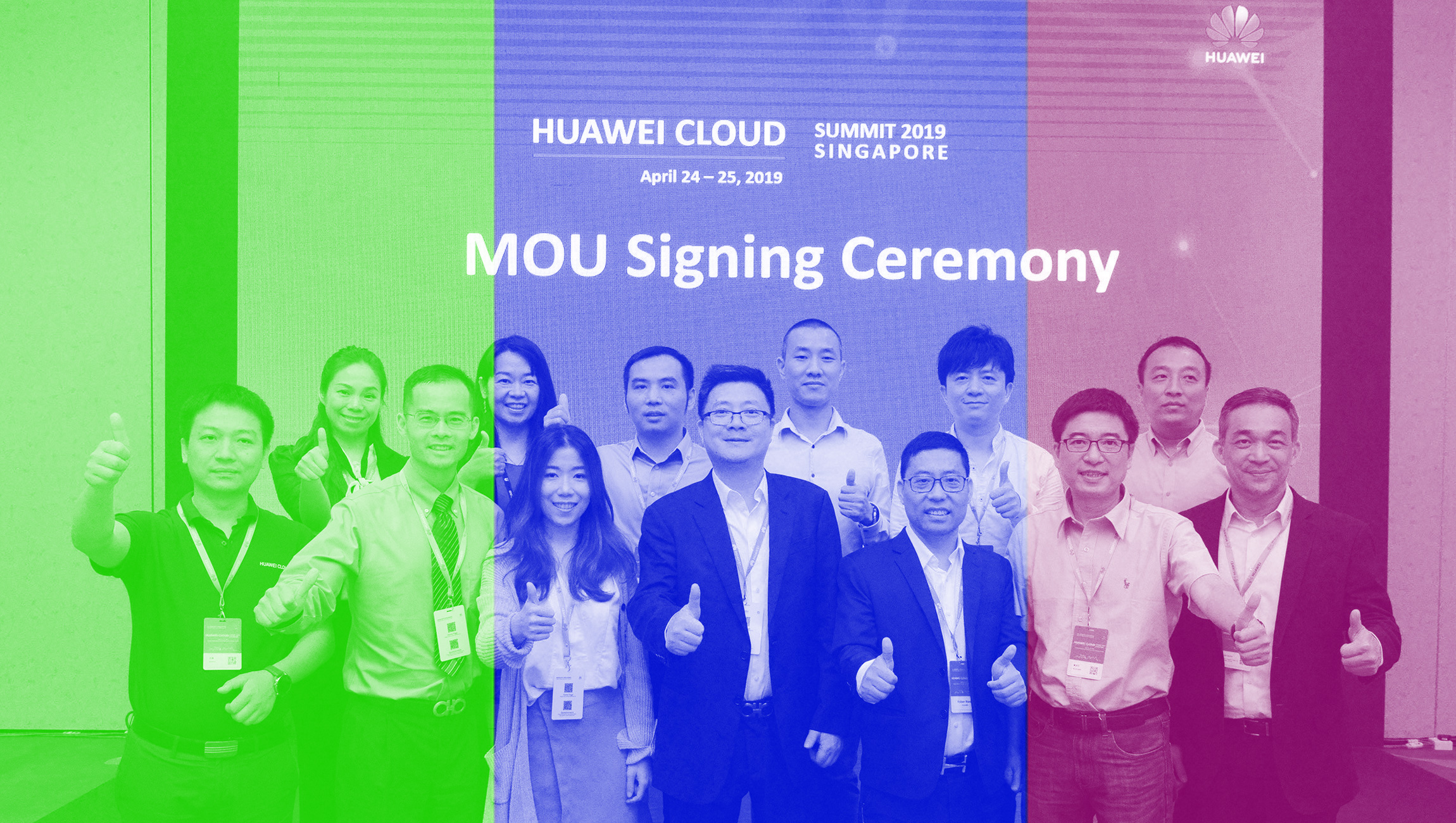 HUAWEI CLOUD Signs MoU with Multiple Companies at the Singapore