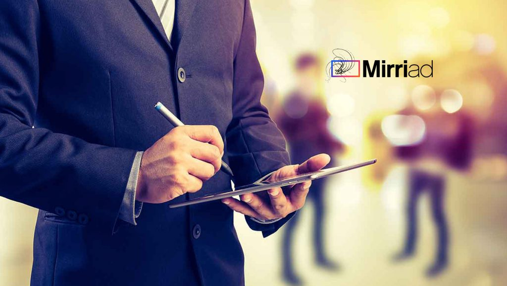 Mirriad Adds Niteen Crawford-Prajapati as Chief Technology Officer to Accelerate AI-Powered Platform for the Linear TV and Digital Video Ecosystem