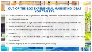 OUT-OF-THE-BOX EXPERIENTIAL MARKETING IDEAS YOU CAN TRY_