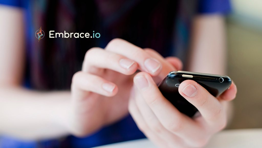 Embrace, the Market Leader in Application Performance Management for Mobile, Announced the Close of a Preemptive Funding Round of $4.5 Million in Additional Capital, Led by Pritzker Group Venture Capital and Joined by Greycroft