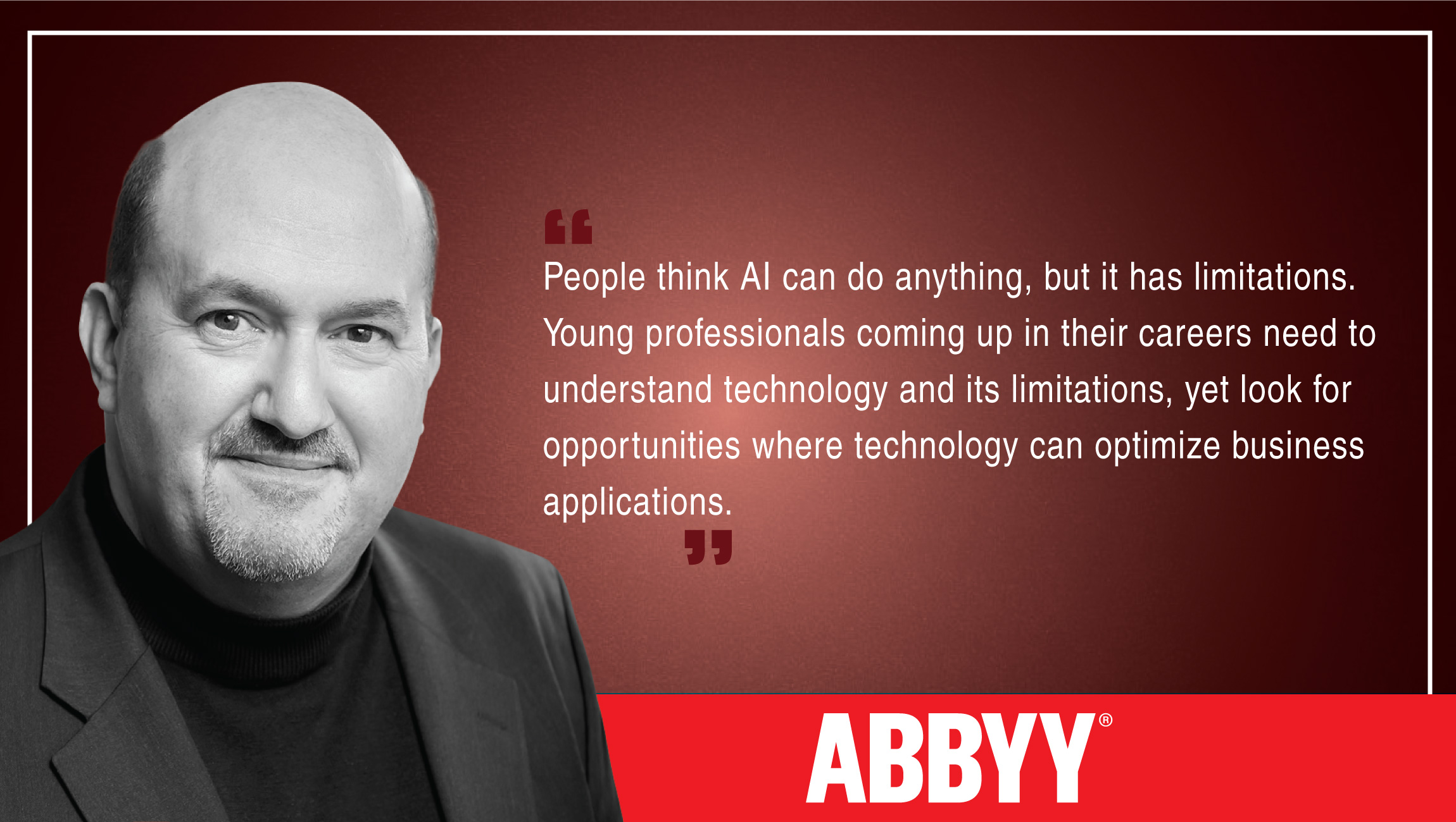 TechBytes with Anthony Macciola, Chief Innovation Officer at ABBY
