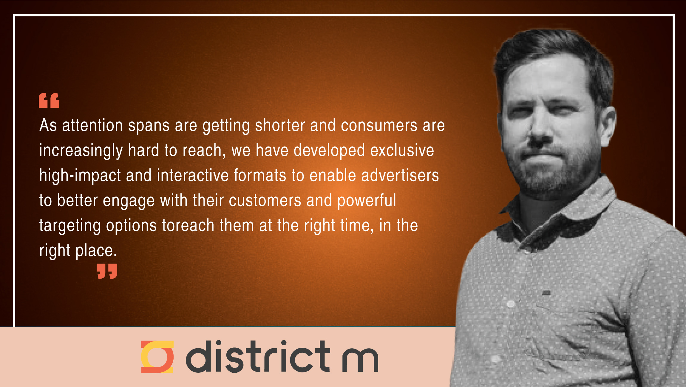 TechBytes with Dom Fortin, CTO, district m