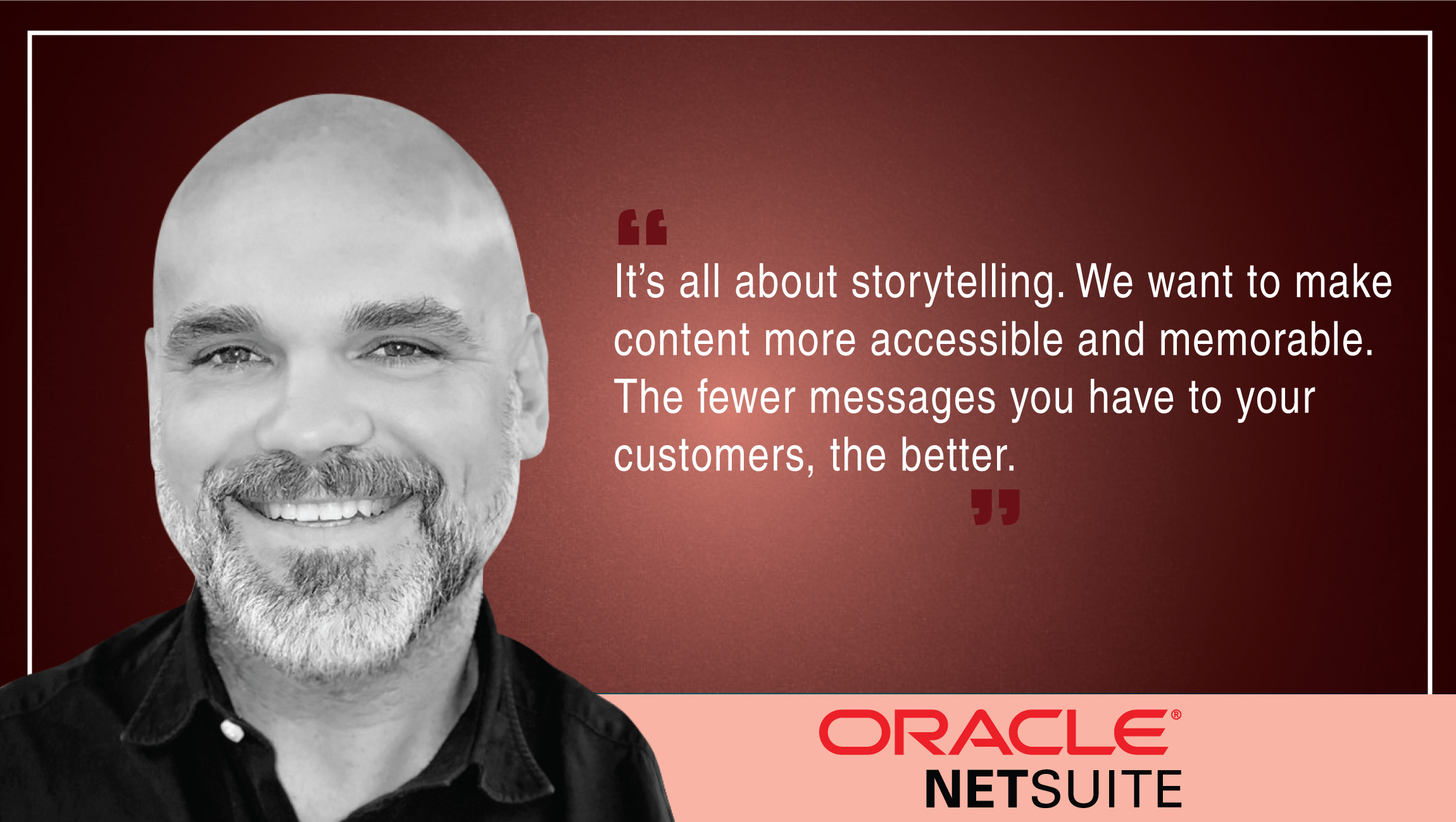 TechBytes with Jason Maynard, SVP of Global Field Operations, Oracle NetSuite