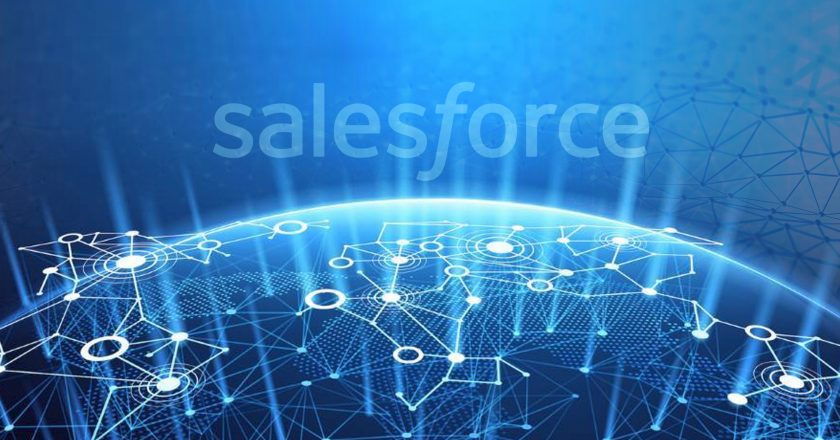 Salesforce Breaks the MarTech Ceiling; Dashes Ahead with New Blockchain CRM