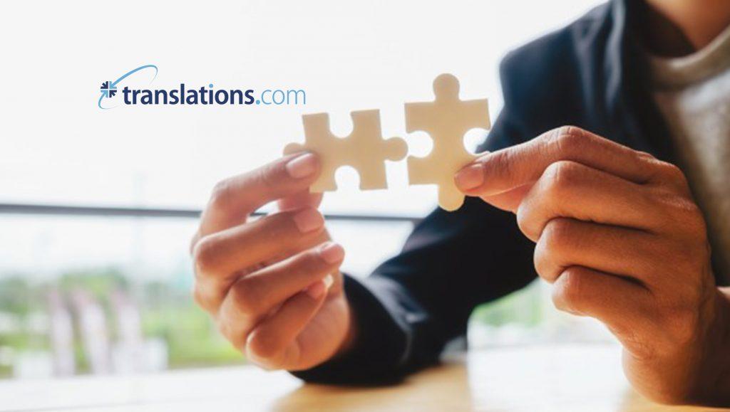 Translations.com Announces New Certification Program For GlobalLink Community-Level Partners