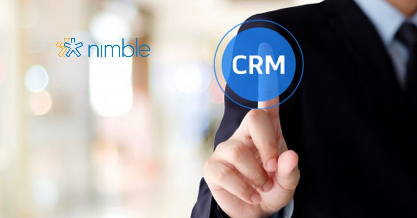 "Introducing Nimble 5.0, Simple Smart Relationship Manager for Office 365 and G Suite Teams That Puts The ""R"" Back Into CRM"