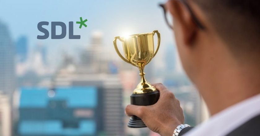 SDL Wins AI Breakthrough Award for Best Machine Translation Solution